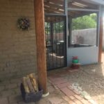 Front porch extended with screen porch