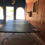 Ping Pong table in breezeway